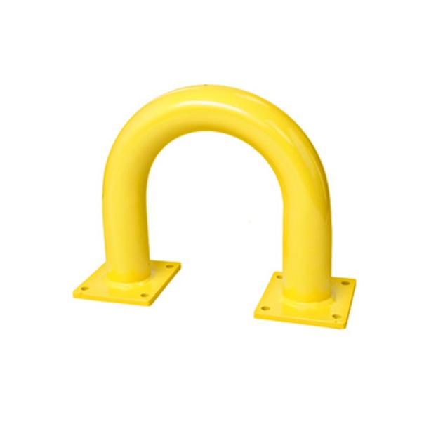 Rammschutz für Ladestationen in Gelb