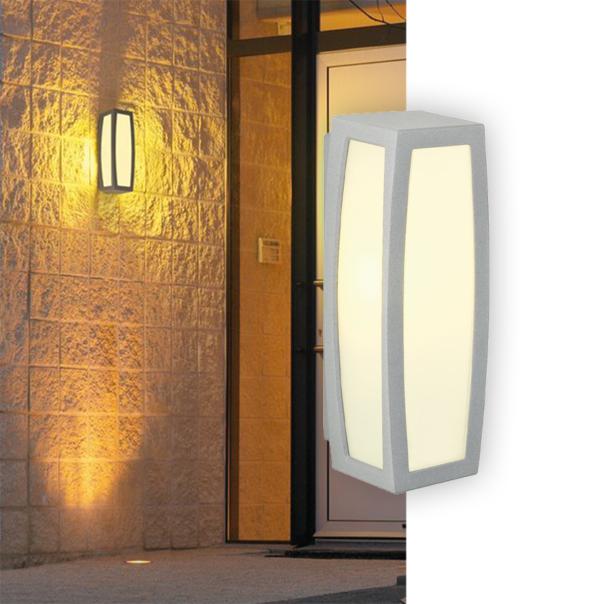 Wand- und Deckeneinbauleuchte mit warmen Licht
