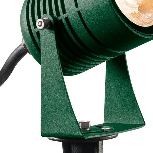 Strahler Erdspieß grün Nahansicht