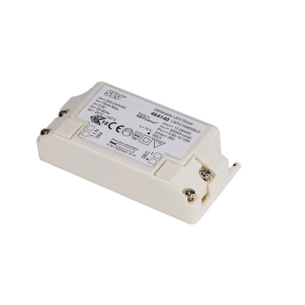 LED-Treiber, dimmbar, 10W, 350mA, inkl. Zugentlastung