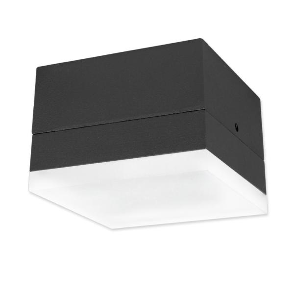 Zelda LED Square Medium 10W 650lm 3000K IP54 anthrazit