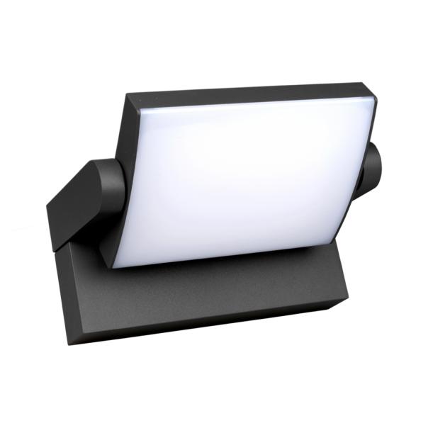 ILAS LED 12,5W 750lm 3000K IP54 anthrazit