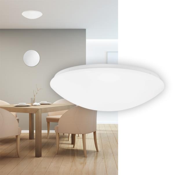 runde moderne Wand und Deckenleuchte für den Innenbereich