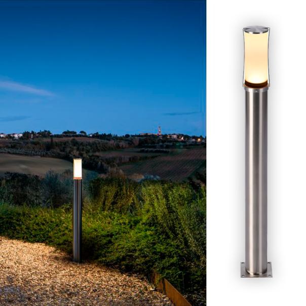 elegante LED Outdoor Stehleuchte