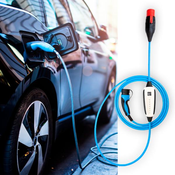 Ladegerät mit WLAN und Bluetooth für Elektroauto