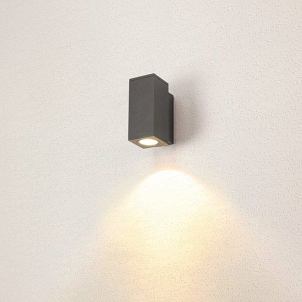 eckige Wandleuchte Licht