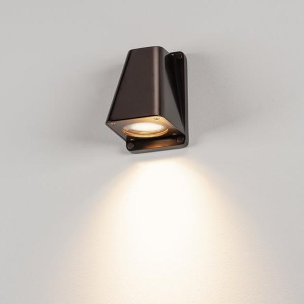 klassische Wandleuchte bronze Licht
